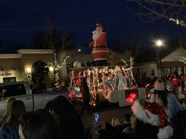 the holiday parade