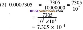 RBSE Solutions for Class 8 Maths Chapter 3 घात एवं घातांक Additional Questions L9