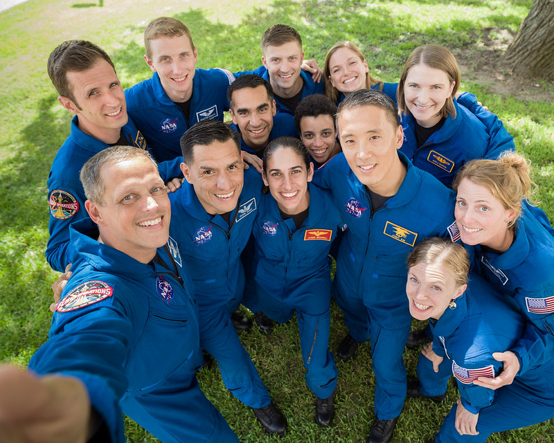 Group Photo of the 2017 NASA Astronaut Class