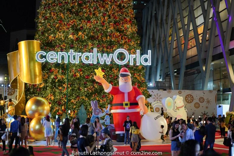 ถ่ายไฟคริสต์มาส ถ่ายไฟปีใหม่ 2020 - centralwOrld เซนทรัลเวิลด์