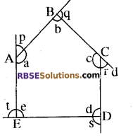 RBSE Solutions for Class 8 Maths Chapter 6 बहुभुज Ex 6.1 Q2
