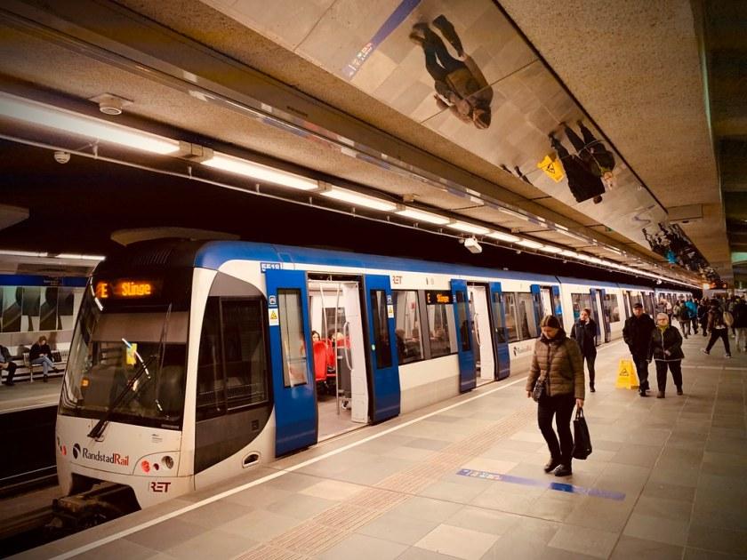 Rotterdam Daily Photo: Beurs Metro Station