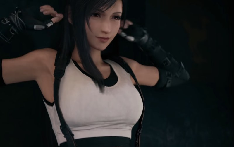 Final Fantasy 7 Remake - Tifa Stretch