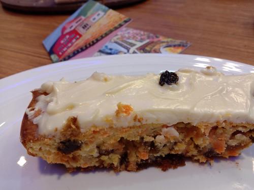 California Raisins and Carrot Cheesecake