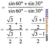 RBSE Solutions for Class 10 Maths Chapter 6 Trigonometric Ratios Ex 6.1 23