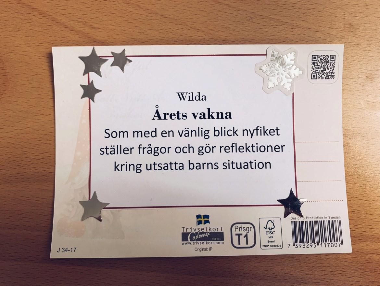 Utmärkelse - reaktionista.se