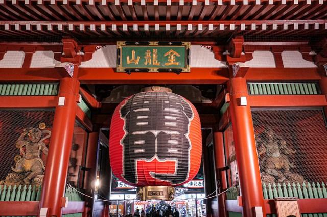 Asakusa night walk年の瀬を迎える浅草の夜
