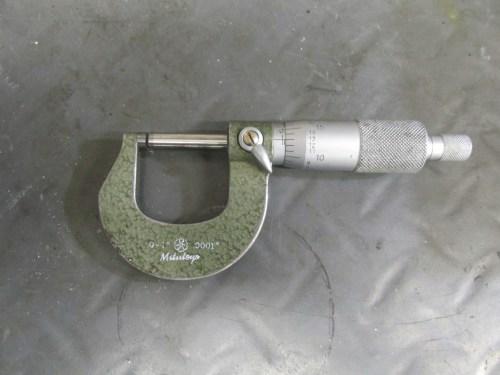 0-1 Inch Micrometer, Mitytoyo 0.0001 Inch