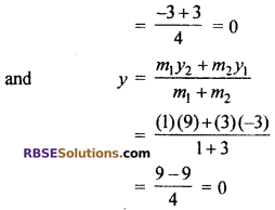 RBSE Solutions for Class 10 Maths Chapter 9 Co-ordinate Geometry Ex 9.2 4