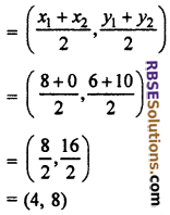 RBSE Solutions for Class 10 Maths Chapter 9 Co-ordinate Geometry Miscellaneous Exercise 28