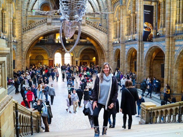 Ruta a pie por el centro de Londres e interior del Museo de Historia Natural