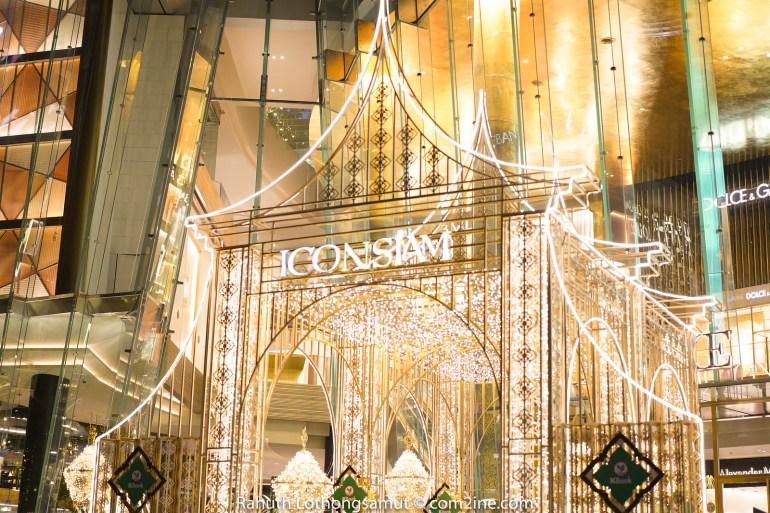 ถ่ายไฟคริสต์มาส ประตูถ่ายไฟปีใหม่ 2020 - ICONSIAM ไอคอนสยาม