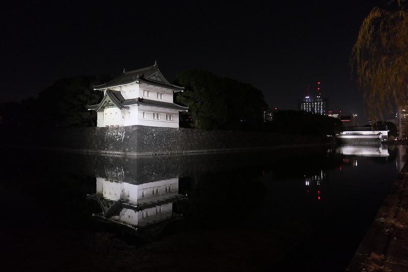 江戸城 桜田巽櫓 富士見櫓 大手門