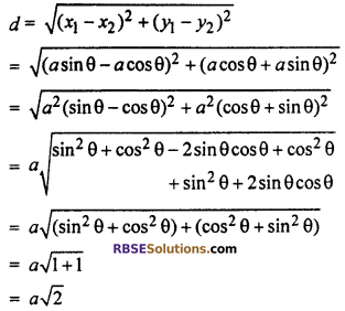 RBSE Solutions for Class 10 Maths Chapter 9 Co-ordinate Geometry Additional Questions 26