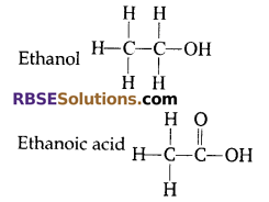 RBSE Solutions for Class 10 Science Chapter 8 Carbon and its Compounds 27