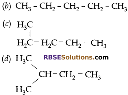RBSE Solutions for Class 10 Science Chapter 8 Carbon and its Compounds 15