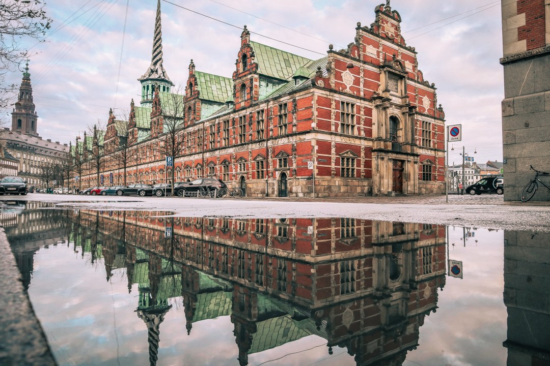 Børsen, il palazzo della Borsa di Copenaghen
