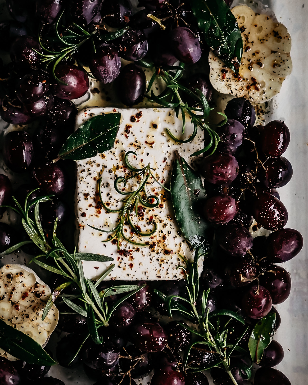 paahdetut viinirypäleet