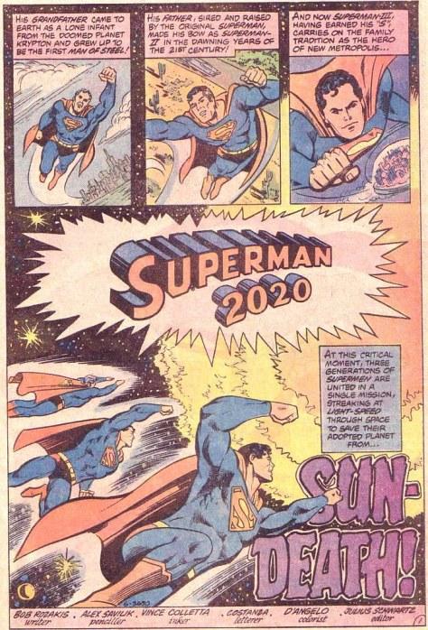 Superman 2020 364 open