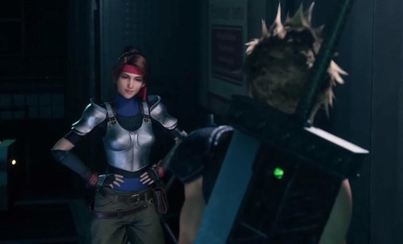 Remake de Final Fantasy VII - Jessie et Cloud