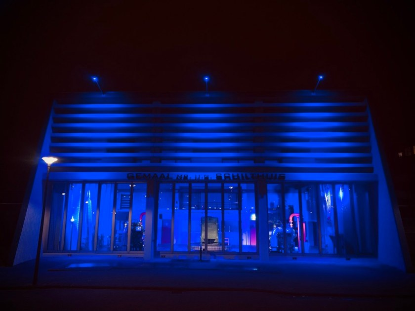 Rotterdam Daily Photo: Flood defense, status blue