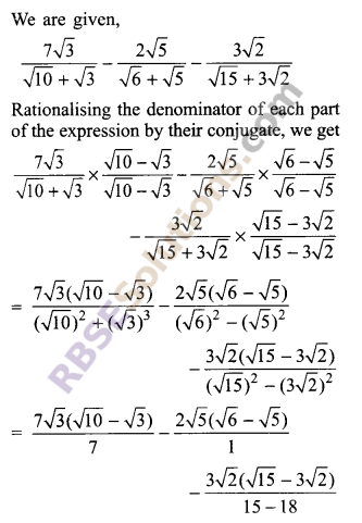 RBSE Solutions for Class 9 Maths Chapter 2 Number System Additional Questions 32