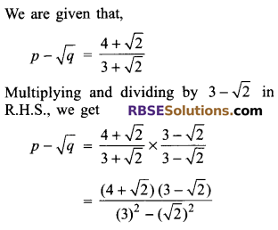 RBSE Solutions for Class 9 Maths Chapter 2 Number System Additional Questions 29