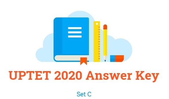 UPTET Answer Key 2020 Set C