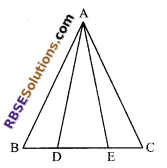 RBSE Solutions for Class 9 Maths Chapter 7 Congruence and Inequalities of Triangles Ex 7.2 5