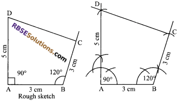 RBSE Solutions for Class 9 Maths Chapter 9 Quadrilaterals Ex 9.3 6