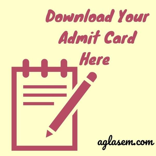 HP SOS 12th Admit Card March 2020