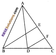 RBSE Solutions for Class 9 Maths Chapter 9 Quadrilaterals Additional Questions 13