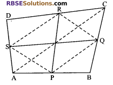 RBSE Solutions for Class 9 Maths Chapter 9 Quadrilaterals Additional Questions 20