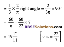 RBSE Solutions for Class 9 Maths Chapter 13 Angles and their Measurement Additional Questions 13