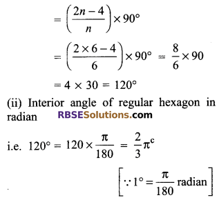 RBSE Solutions for Class 9 Maths Chapter 13 Angles and their Measurement Additional Questions 2