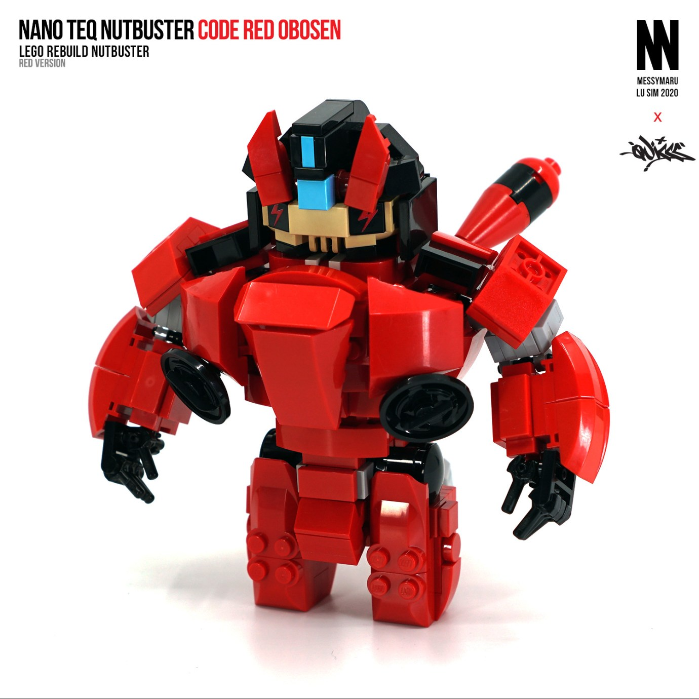 NanoTEQ Nutbuster Code Red OBOSEN