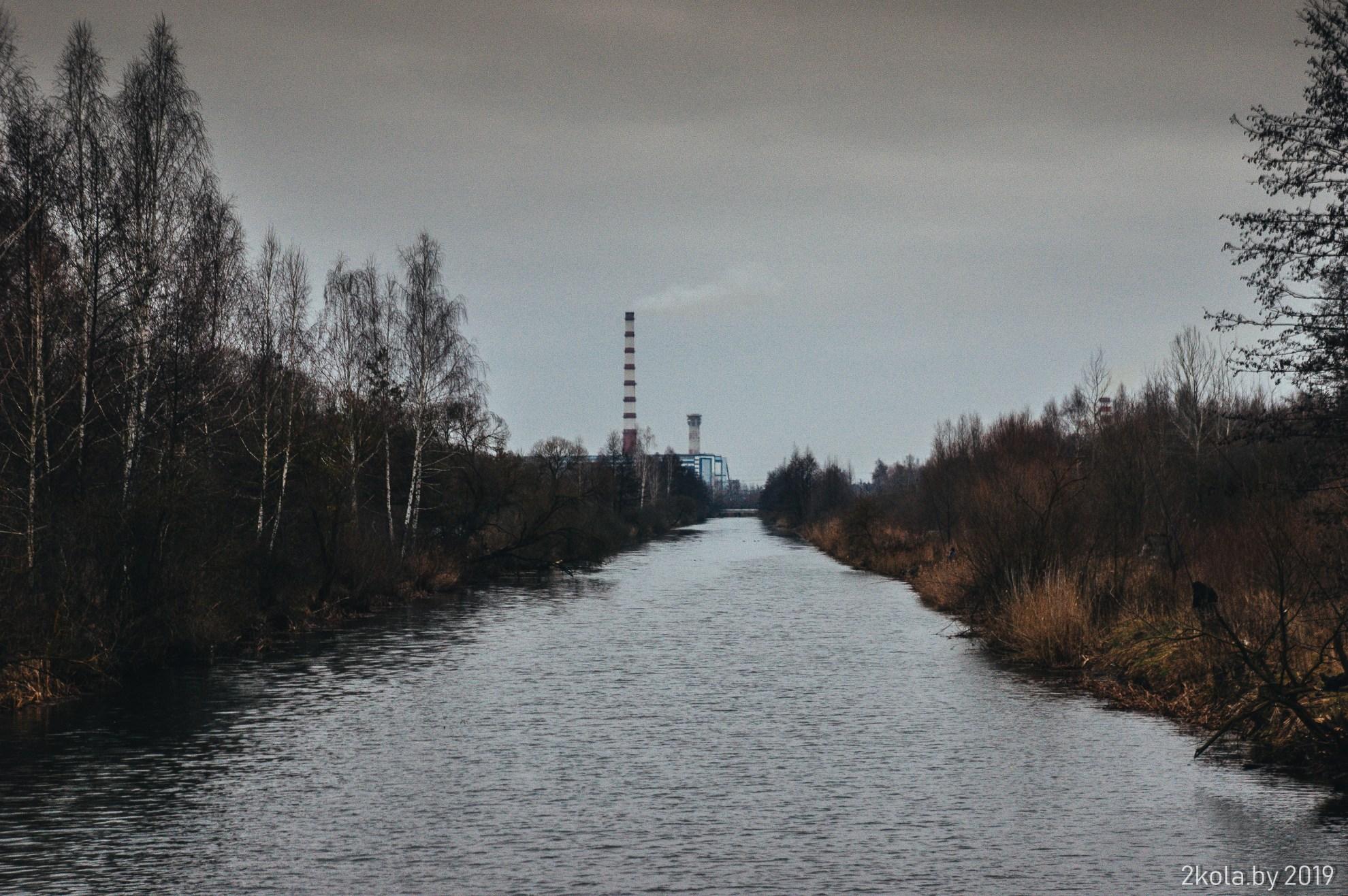 2-й тёплый канал и Березовская ГРЭС
