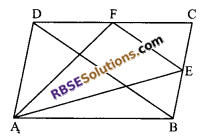 RBSE Solutions for Class 9 Maths Chapter 10 Area of Triangles and Quadrilaterals Additional Questions 26