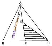 RBSE Solutions for Class 9 Maths Chapter 10 Area of Triangles and Quadrilaterals Additional Questions 11