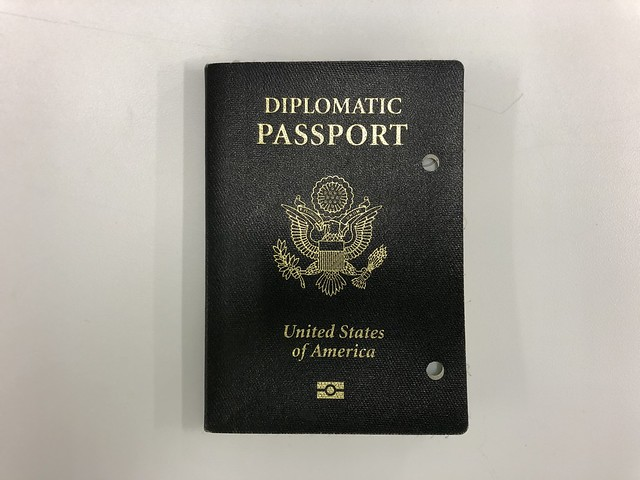 Diplomatic Passport, issued to Tom Gallagher 2007