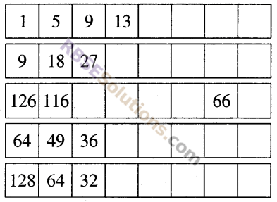RBSE Solutions for Class 5 Maths Chapter 8 पैटर्न Additional Questions 20
