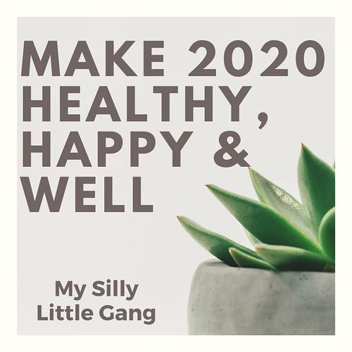 Make 2020 Healthy, Happy & Well #MySillyLittleGang @BtEquator @tummydrops @Tastyclean