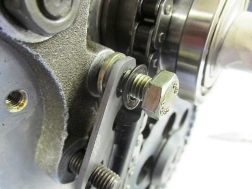 Rubbing Block Hardware Detail-Upper Bolt