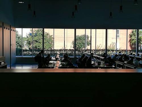 Silenci. Tranquil·litat. Concentració. . Últim esforç, últims exàmens. :muscle: #moltasort #saladestudi