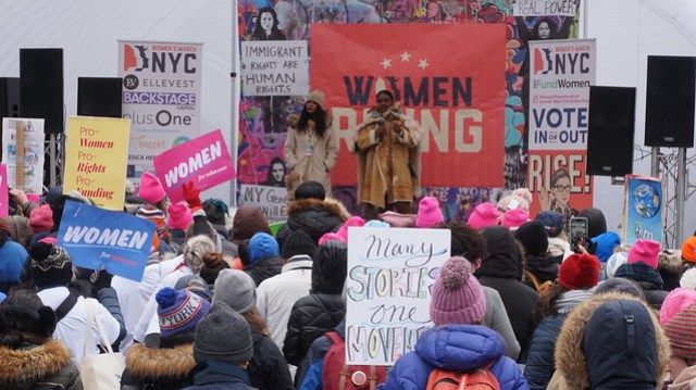 Women's March NYC 2020