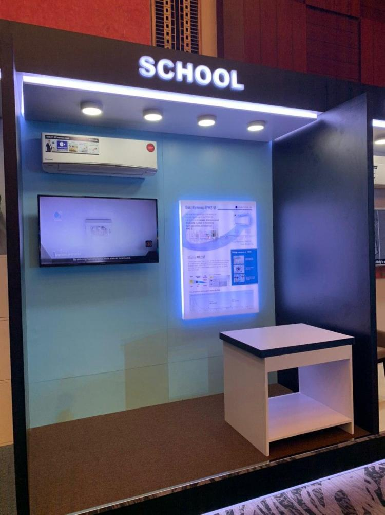 Keep children free from allergens and bacteria in school with Panasonic ACs
