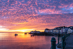 Aberdyfi sunset Jan 2020