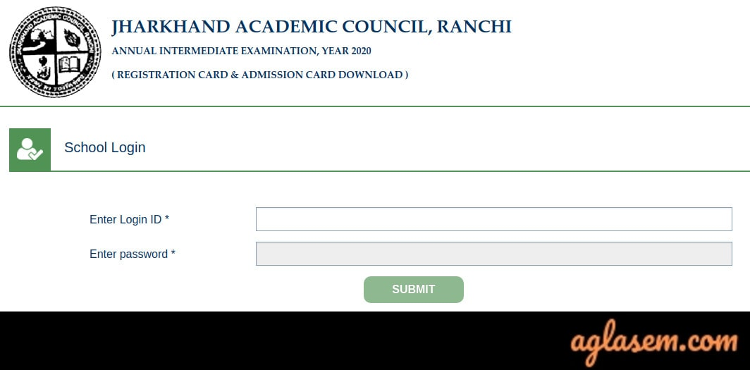 JAC Admit Card 2020