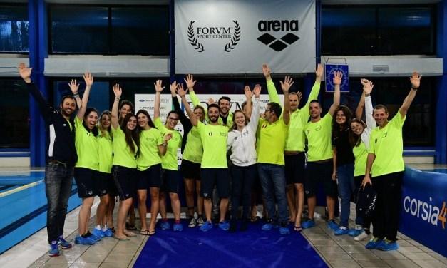 Speciale MasterS:  al Flaminio SC il 24° Trofeo Forum Sprint di Roma