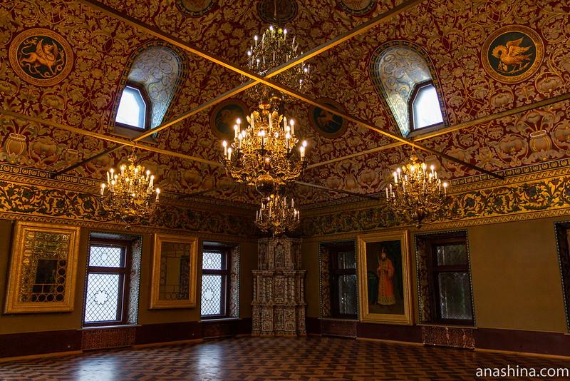 Крестовая палата, палаты Волковых-Юсуповых, Москва